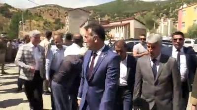 Minibüsün şarampole devrilmesi - Vali Oktay Çağatay - BİTLİS