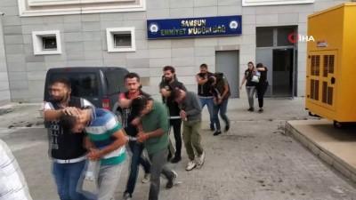 - Samsun'da uyuşturucu ticaretinden 7 kişi adliyeye sevk edildi