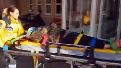Otomobil şarampole devrildi: 7 yaralı - ERZİNCAN