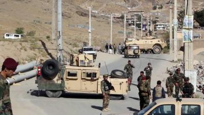 Afganistan'da karakola bomba yüklü araçla saldırı: 4 ölü - KABİL
