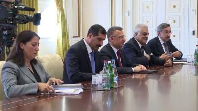 Cumhurbaşkanı Yardımcısı Oktay, Azerbaycan Cumhurbaşkanı Aliyev'le görüştü - BAKÜ