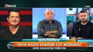 Acun Ilıcalı Beyaz Futbol'da Türk futbol gündemini değerlendirdi