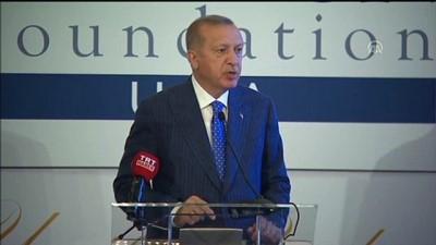Cumhurbaşkanı Erdoğan: 'Hedefimiz, ülkemizdeki misafir öğrenci sayısını 350 bine çıkarmak' - NEW YORK