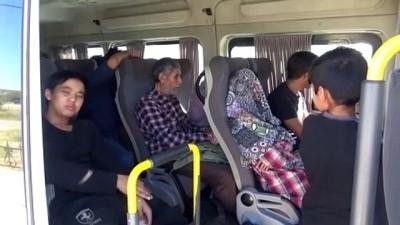 Ayvacık'ta 88 düzensiz göçmen yakalandı - ÇANAKKALE