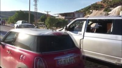 Nişan yolunda trafik kazası: 1 ölü, 6 yaralı - GAZİANTEP