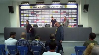 MKE Ankaragücü-Gençlerbirliği maçının ardından - ANKARA