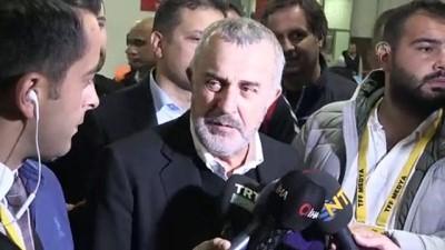 Trabzonspor-Beşiktaş maçının ardından - Beşiktaş Genel Sekreteri Ürkmezgil - TRABZON