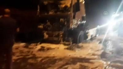 Anadolu Otoyolu'nda tır yangını - KOCAELİ