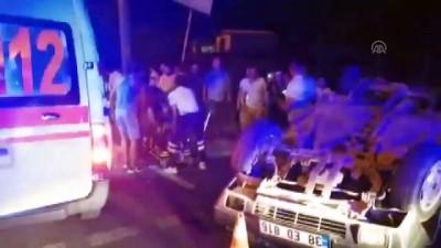 İki otomobil çarpıştı: 6 yaralı - AYDIN
