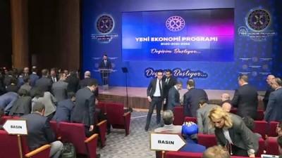 Albayrak: '(Yeni Ekonomi Programı) Bu yılki programın ana temasına 'Değişim başlıyor' dedik' - ANKARA