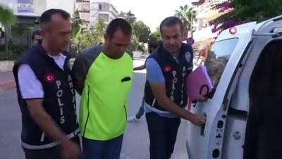 Baldızını öldüren zanlı Konyaaltı Sahili'nde sahte kimlikle yakalandı