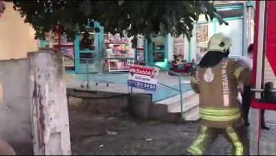 Ataşehir'de işyeri yangını - İSTANBUL