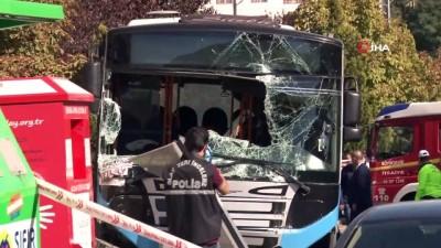 Başkent'teki otobüs kazası mobeselere yansıdı