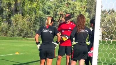 Genç Milli Kadın Futbol Takımının hedefi Elit Tur'a yükselmek - ANTALYA