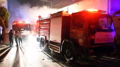 İplik atölyesinde yangın - GAZİANTEP