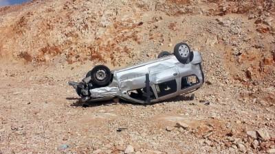 Otomobil devrildi: 1 yaralı - HATAY