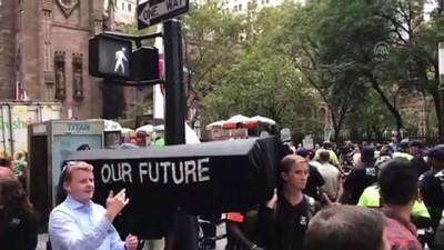 İklim değişikliği protestosu - NEW YORK
