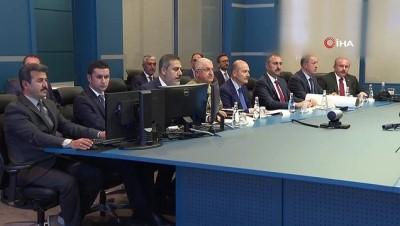 Erdoğan, Barış Pınarı Harekatı Koordinasyon Toplantısına katıldı