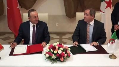 Türkiye-Cezayir arasında iş birliği anlaşması - CEZAYİR