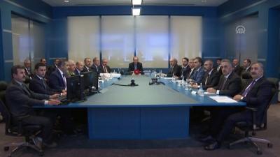 Cumhurbaşkanı Erdoğan başkanlığında 'Barış Pınarı Harekatı Koordinasyon Toplantısı' yapıldı - ANKARA