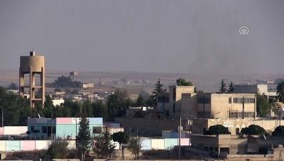 Barış Pınarı Harekatı - Tel Abyad'daki terör hedefleri obüs atışlarıyla vuruluyor (3)