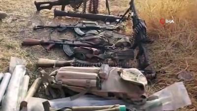 - YPG/PKK'dan ele geçirilen mühimmatların videosu yayınlandı