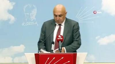 CHP'li Özkoç'tan tezkere açıklaması