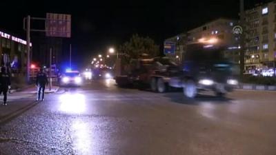 Suriye sınırına askeri sevkiyat devam ediyor - KİLİS