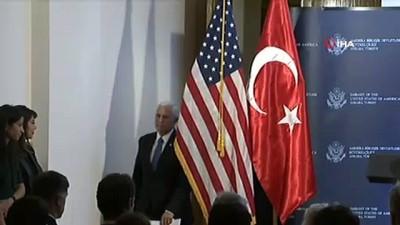 ABD Başkan Yardımcısı Mike Pence:' ABD ve Türkiye Suriye'de ateşkes için anlaştı'
