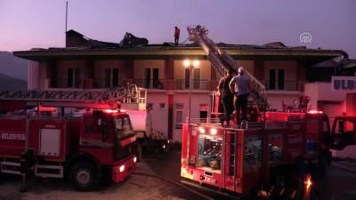 Bartın'da otel yangını