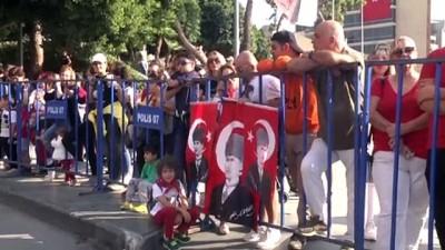29 Ekim Cumhuriyet Bayramı kutlanıyor - ANTALYA