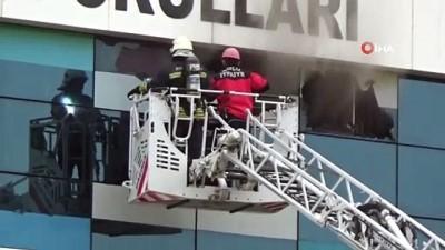 Bolu'da özel okulda yangın paniği