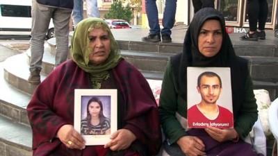 HDP önündeki ailelerin evlat nöbeti 58'inci gününde