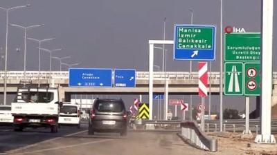 Kuzey Ege Otoyolu İzmir-Çandarlı arasını 40 dakikaya indiriyor