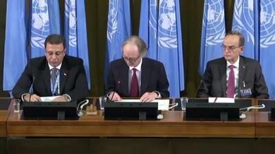Suriye Anayasa Komitesi toplantısı başladı (1) - CENEVRE