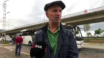 Otobüs yangınlarına 'Otobüslerdeki televizyon ve prizler sebep oluyor' iddiası