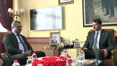 Azerbaycan'ın Ankara Büyükelçisi'nden Sivas'a ziyaret - SİVAS