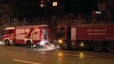 Başkent'te 3 gecekondu alev alev yanarak böyle küle döndü