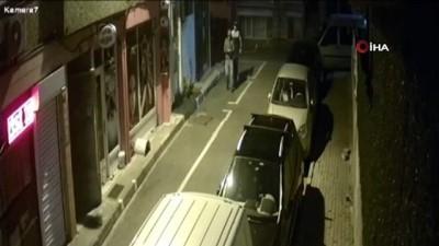 Fatih'te hırsızlık yaptılar, Esenler Otogarı'nda yakalandılar...Hırsızlık zanlıları kamerada