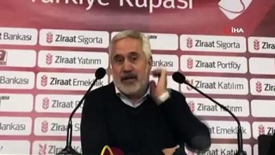 """Ercümend Hülakü Coşkundere: """"İyi oynadık, kaybettik"""""""