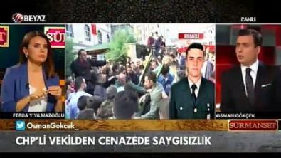 Osman Gökçek, CHP'li vekilin o görüntüleri eleştirdi, 'Biraz saygın olsun'