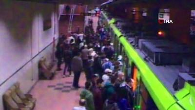 Metroda rahatsızlanan yaşlı adam, hastanede hayatını kaybetti