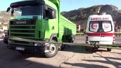 Geri gelen kamyonetin altında kalarak yaşamını yitirdi - TRABZON