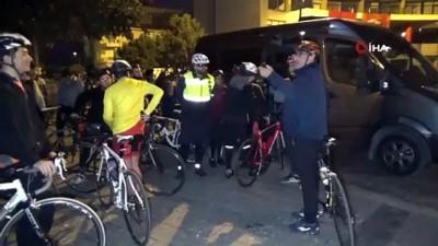 Düzceli bisikletçiler Atatürk'ün huzuruna bisikletleriyle çıkacaklar