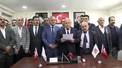 'Doğu Anadolu Bölgesi Gaziler ve Şehit Aileleri Federasyonu' kuruldu - HAKKARİ