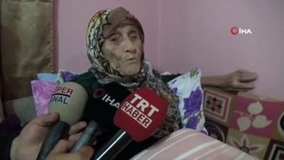 106 yaşındaki çınar Şükriye nine Atatürk'ü anlattı
