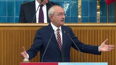 Kılıçdaroğlu: 'Toplumda huzur kalmadı' - TBMM