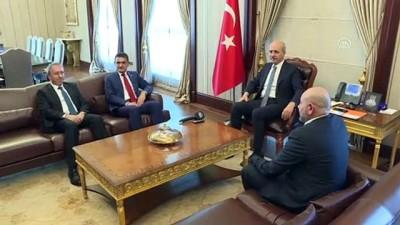 Kurtulmuş, KKTC Tarım ve Doğal Kaynaklar Bakanı Oğuz ile görüştü - ANKARA