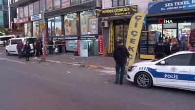 Esenyurt'ta iki kişinin yaralandığı silahlı saldırı kamerada