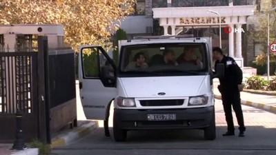 Pendik'te pompalı silahla öldürülen 3 kişinin cenazesi Adli Tıp Kurumundan alındı